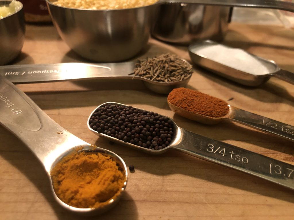 Khichari - Spices