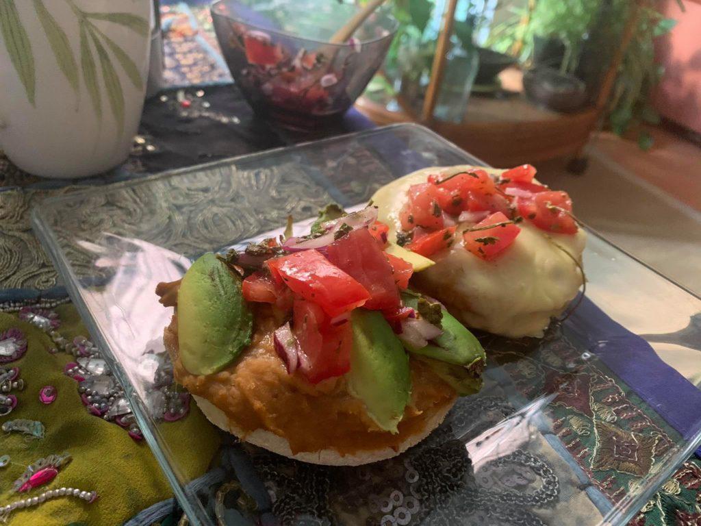 Mexican-Molletes